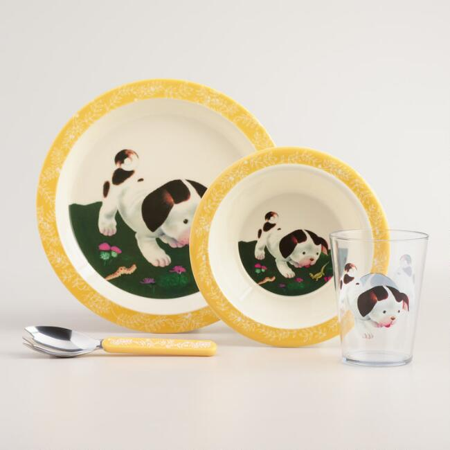 Poky Little Puppy Tableware Set, 4-Piece