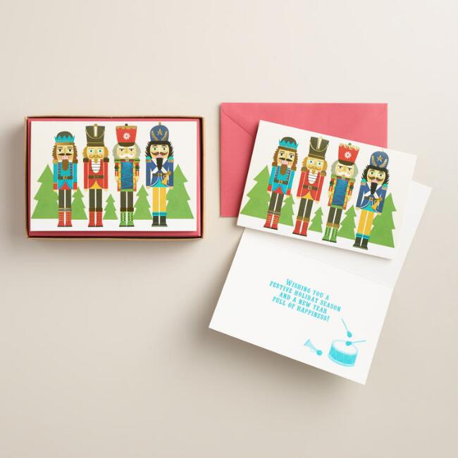 Nutcracker Boxed  Holiday Cards, Set of 15