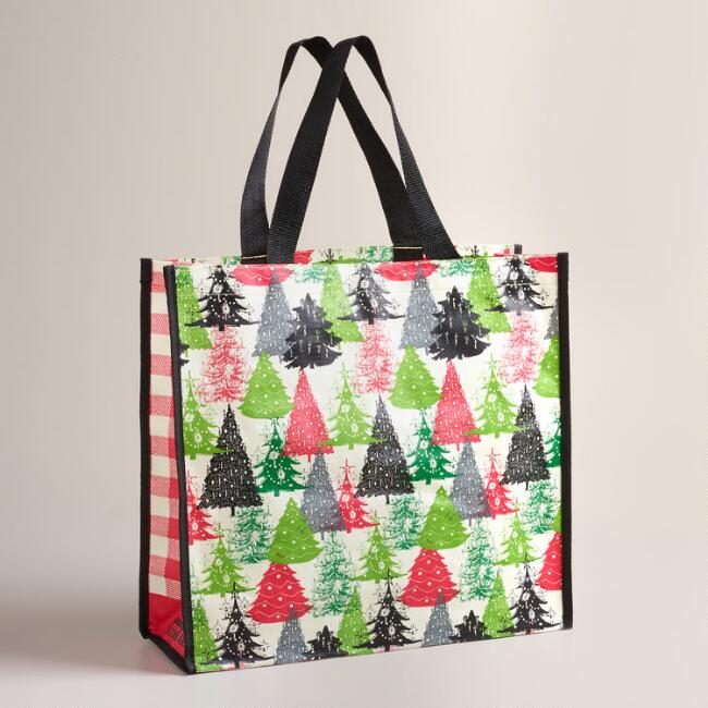Holiday Trees Tote