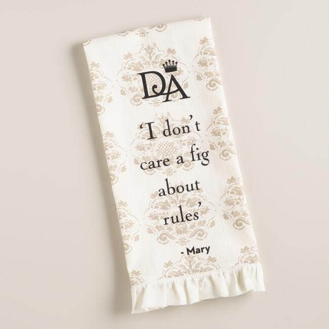 Downton Abbey Mary Kitchen Towel