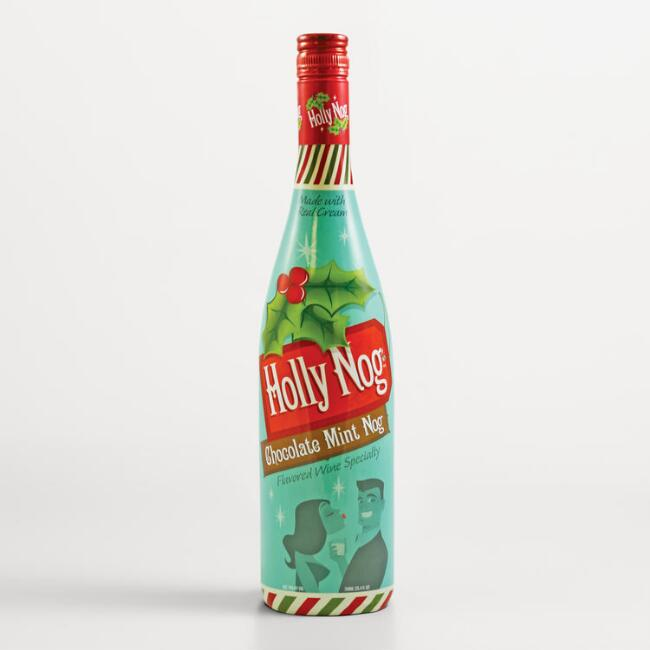 Holly Nog Chocolate Mint Nog