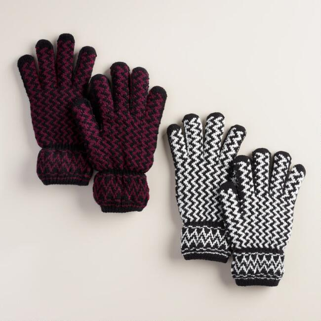 Zigzag Gloves