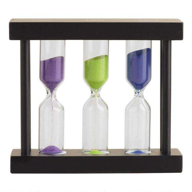 One, Three and Five Minute Sand Tea Timer