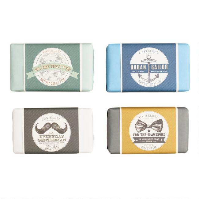 Castelbel Men's Bar Soap Collection