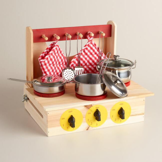 Kids' Cooking Play Set