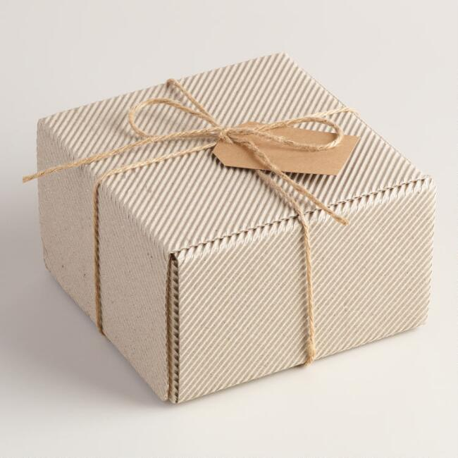 Medium Rectangular Kraft Gift Box