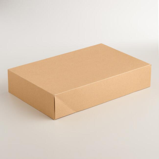 Kraft Shirt Gift Boxes Set of 3