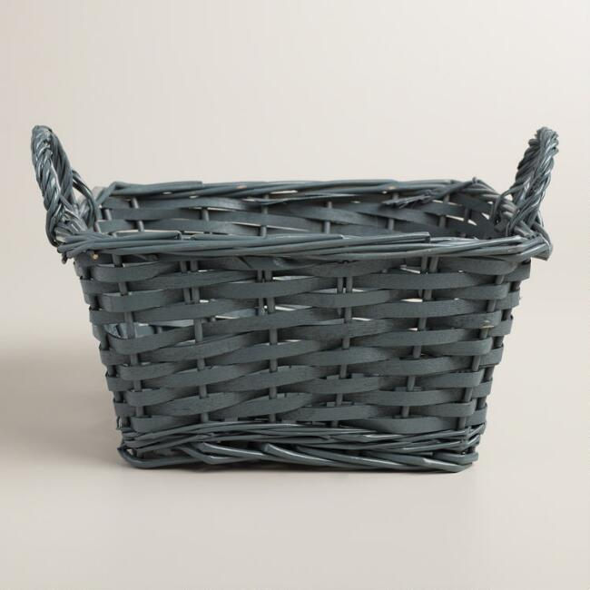 Medium Gray Square Jordan Basket