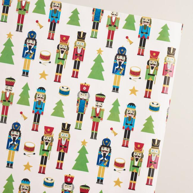 Jumbo Nutcracker Wrapping Paper