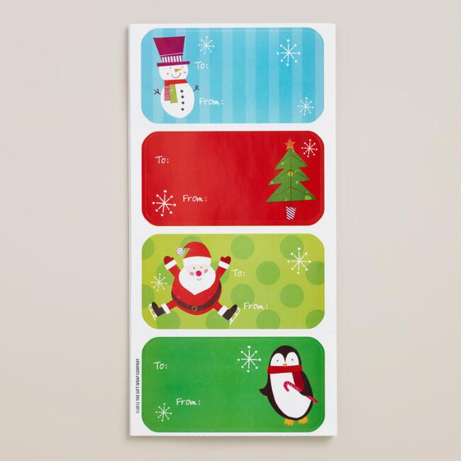 Holiday Gift Labels, 2 Pack