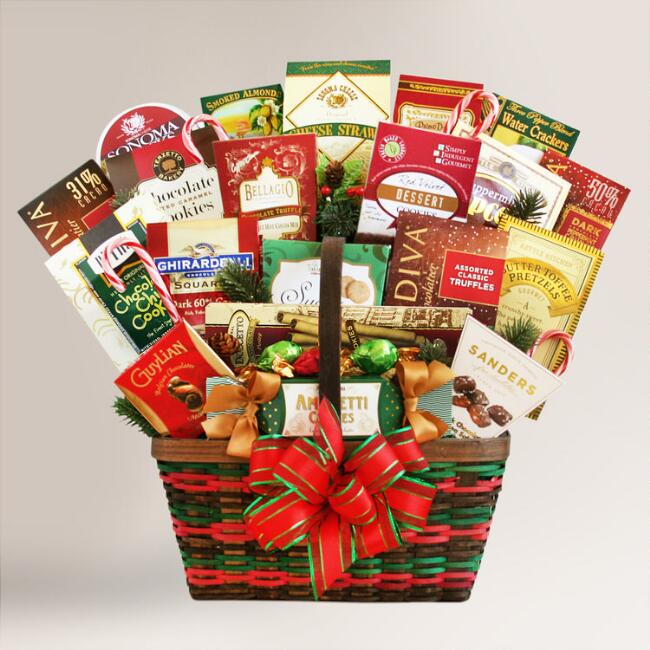 Abundance of Wishes Gourmet Gift Basket