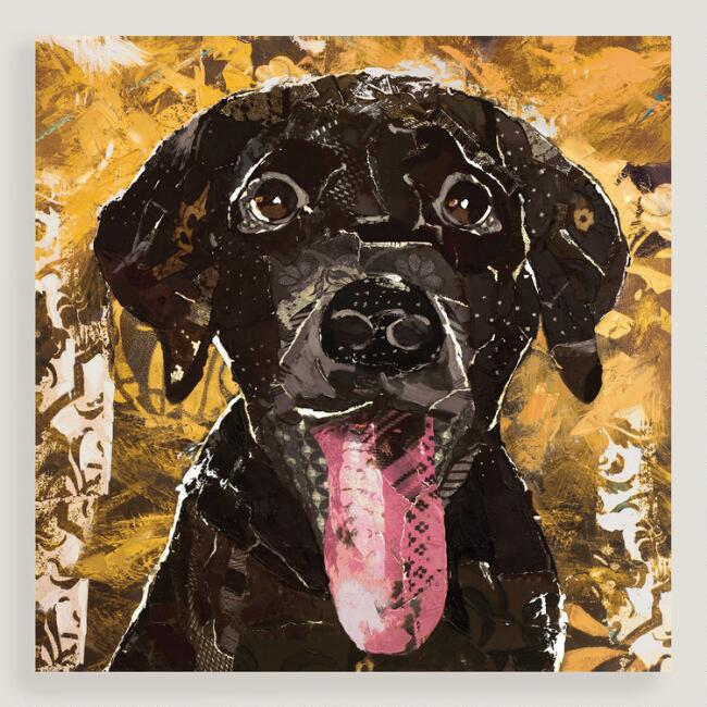 Chocolate Lab Wall Art