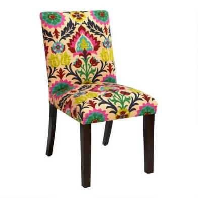 Kerri Upholstered Dining Chair with Espresso Legs