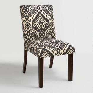 Charcoal Gray Linen Lydia Dining Chairs Set Of 2 World