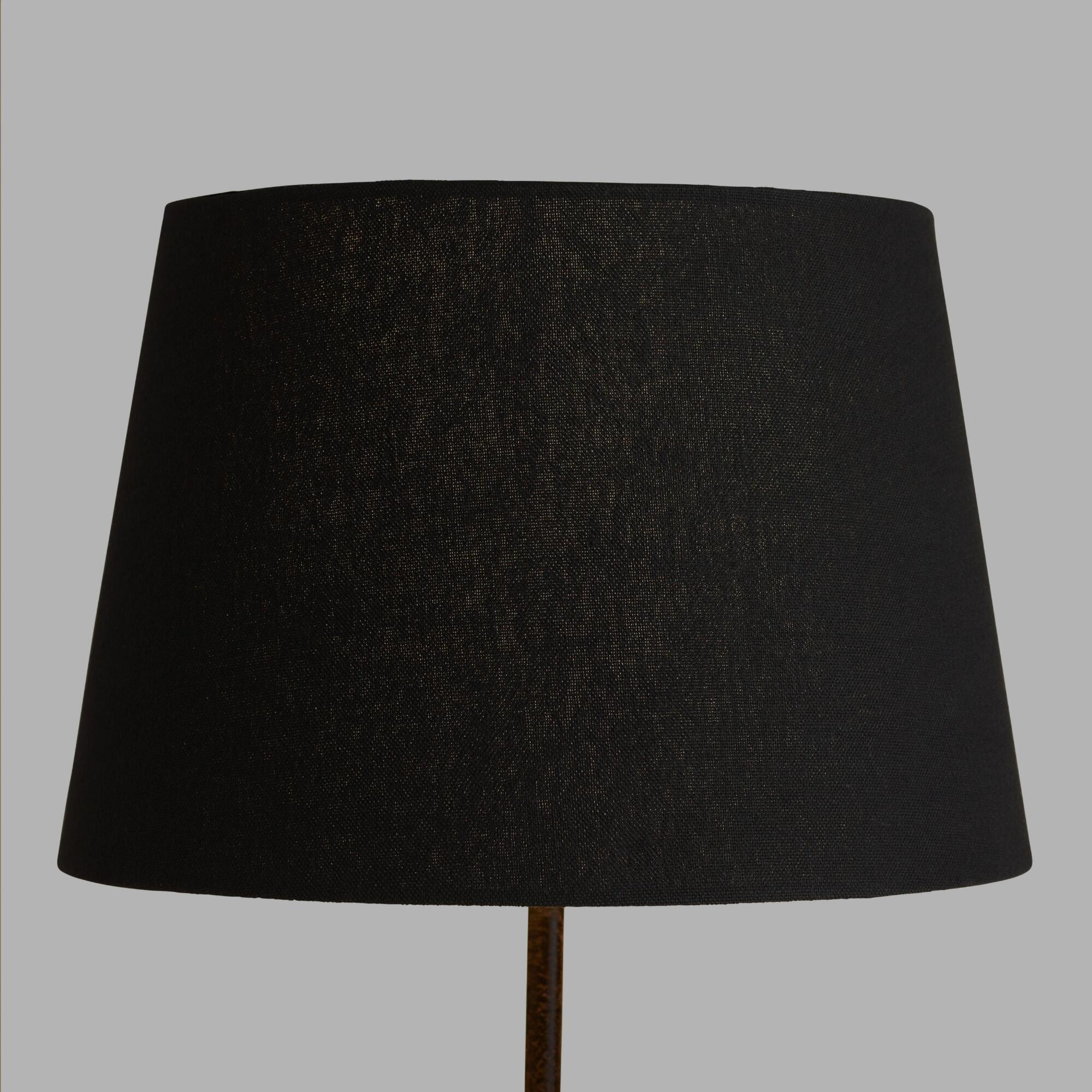 Black Linen Accent Lamp Shade by World Market