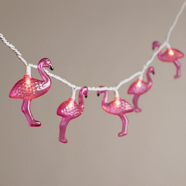 Flamingo 10 Bulb String Lights