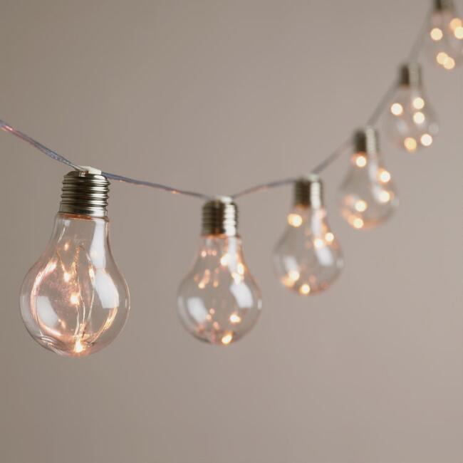Edison Firefly 10 Bulb Battery Operated String Lights