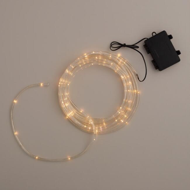 Mini led battery operated rope lights world market mini led battery operated rope lights aloadofball Images
