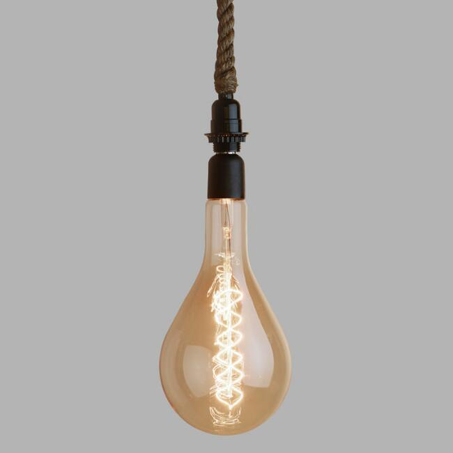 Oversized Globe Filament Light Bulb
