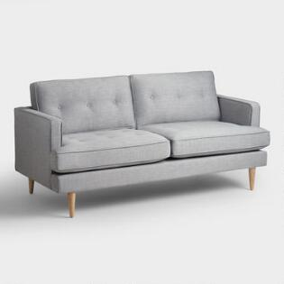 Sofas Couches And Loveseats World Market - Love seat and sofa