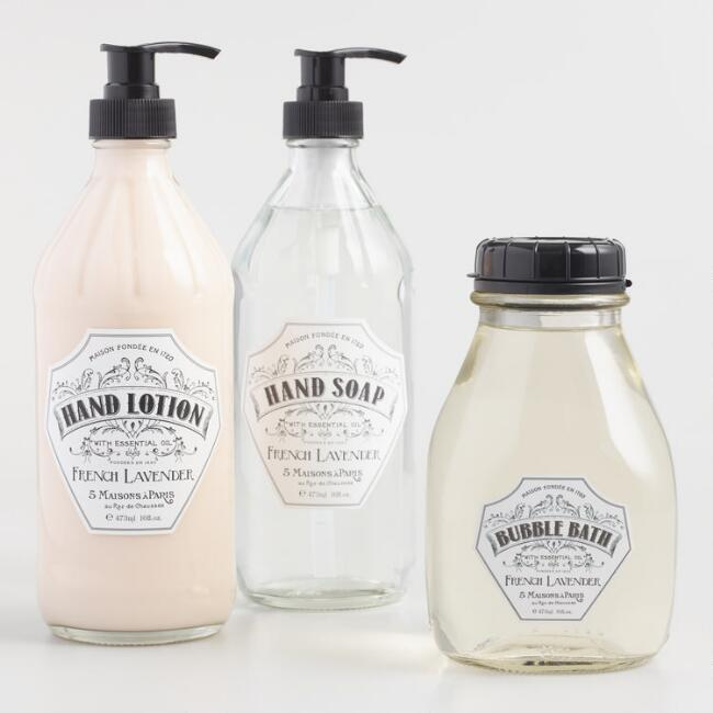 Maison Lavender Bath and Body Collection