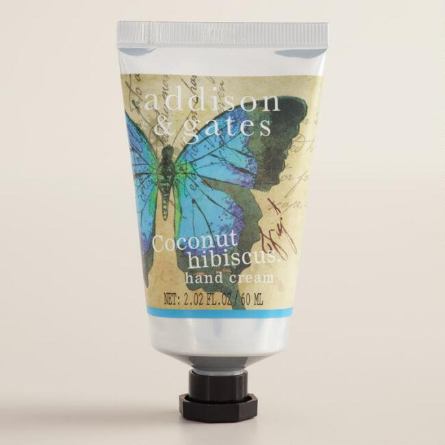 A&G Butterfly Coconut Hibiscus Hand Creams Set of 2