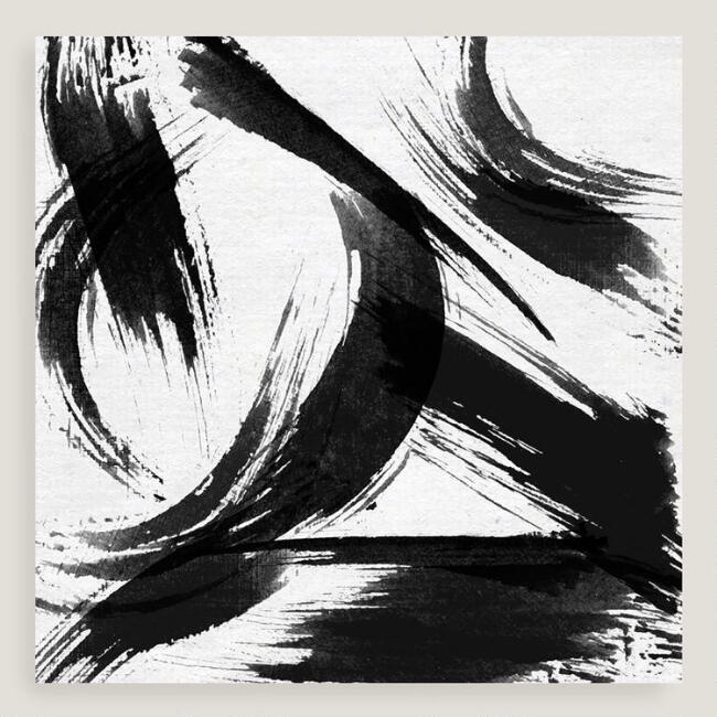Black And White Art Abstract