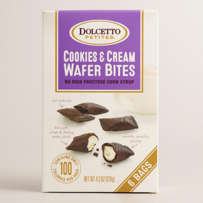 Dolcetto Cookies and Cream Wafer Bites