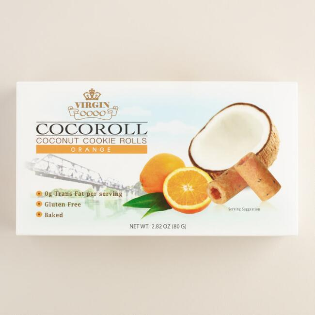 Thai Cocoroll Orange Cookies