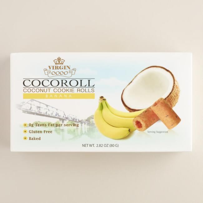 Thai Cocoroll Banana Cookies