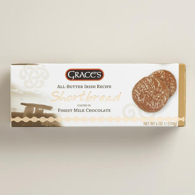Grace's Chocolate Irish Shortbread Biscuits