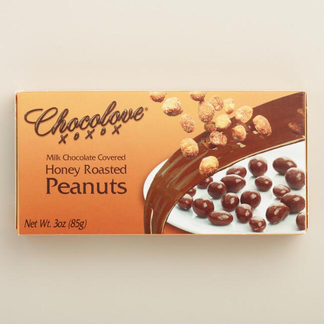 Chocolove Honey Roasted Peanuts and Milk Chocolate