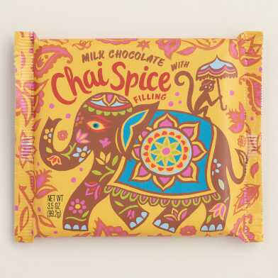 World Market® Chai Tea Milk Chocolate Bar