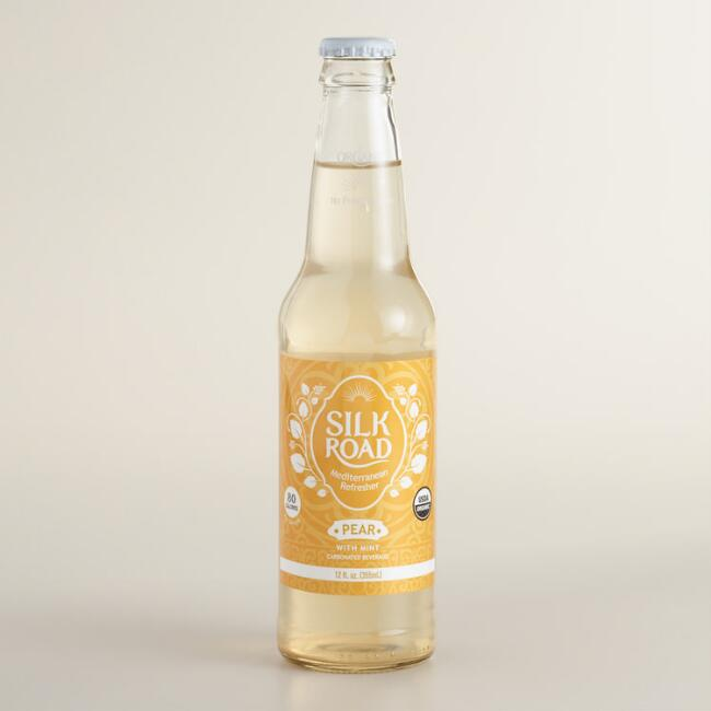 Silk Road Pear Mint Soda