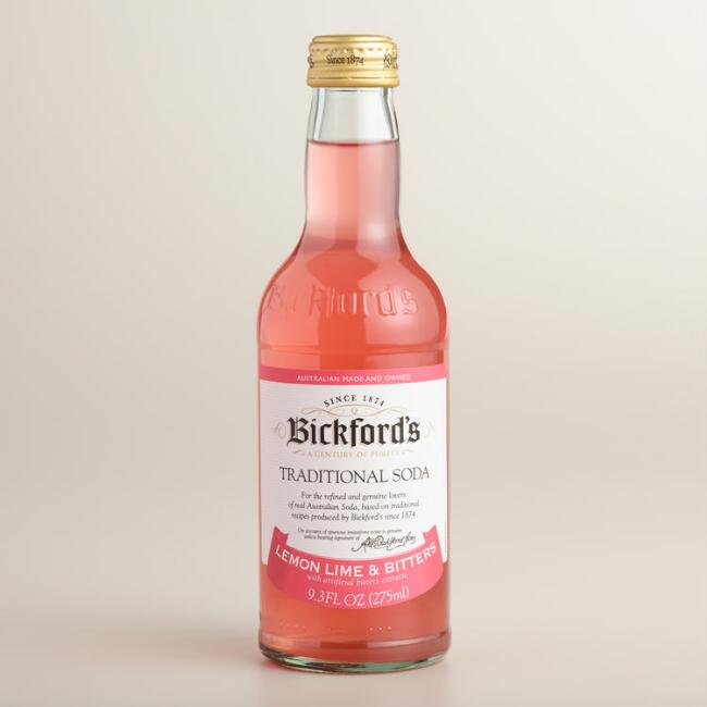 Bickford's Lemon Lime and Bitters Soda