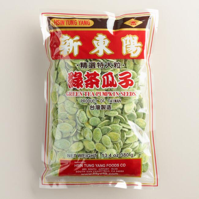 Green Tea Pumpkin Seeds