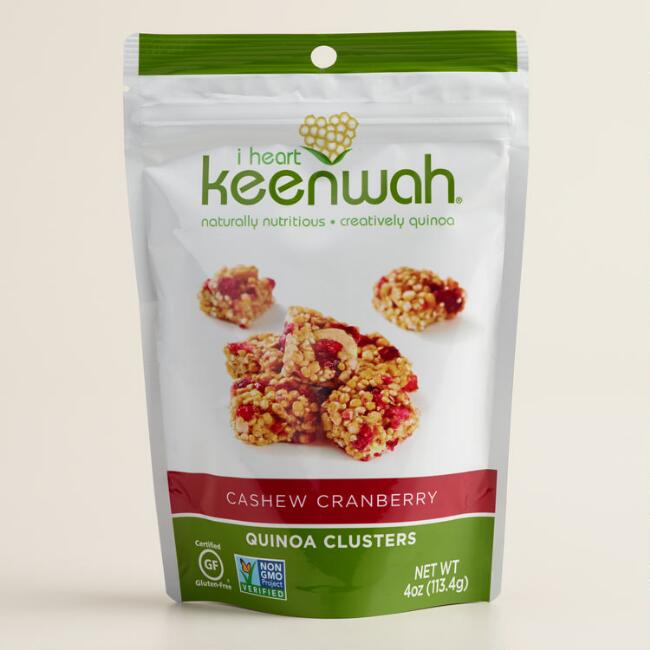 I Heart Keenwah Cranberry Cashew Clusters