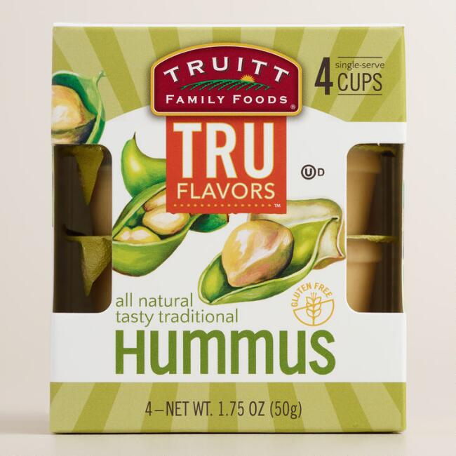 Truitt Traditional Hummus Dip 4 Pack