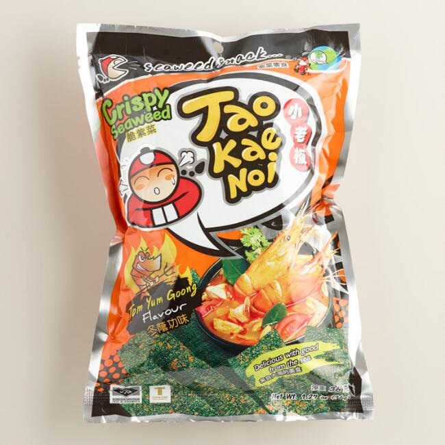 Eastland Tom Yum Goong Seaweed Snacks
