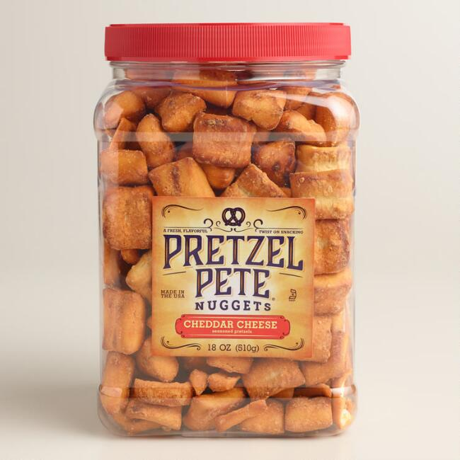 Pretzel Pete Cheddar Cheese Nuggets