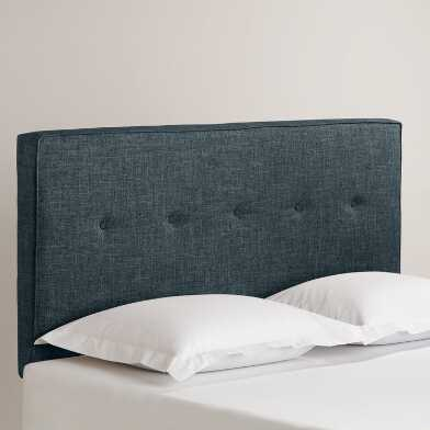 Linen Tufted Donnon Upholstered Headboard