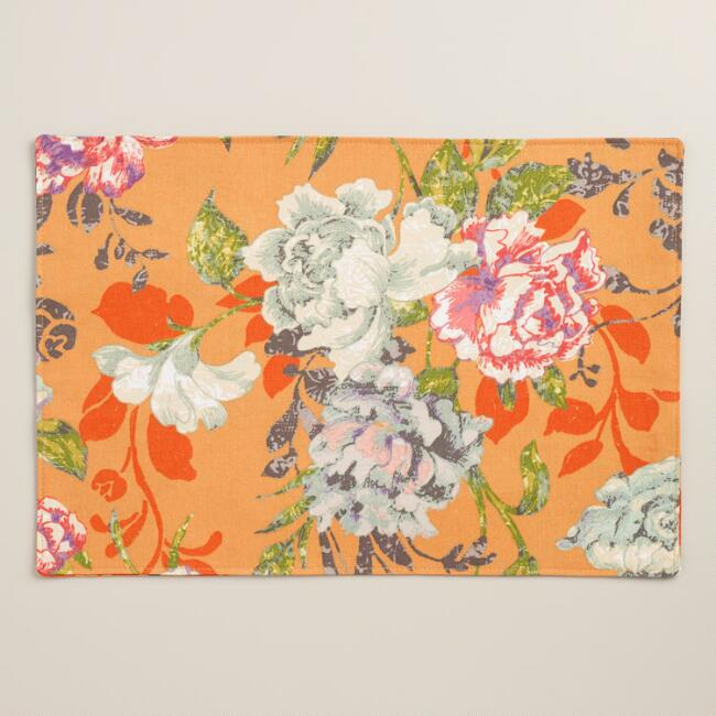 Regina Floral Placemats Set of 4