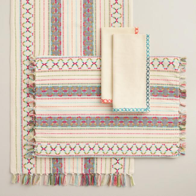 Cassia Table Linen Collection