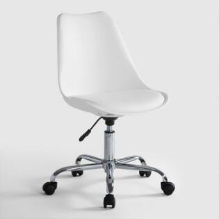 white emerson office chair