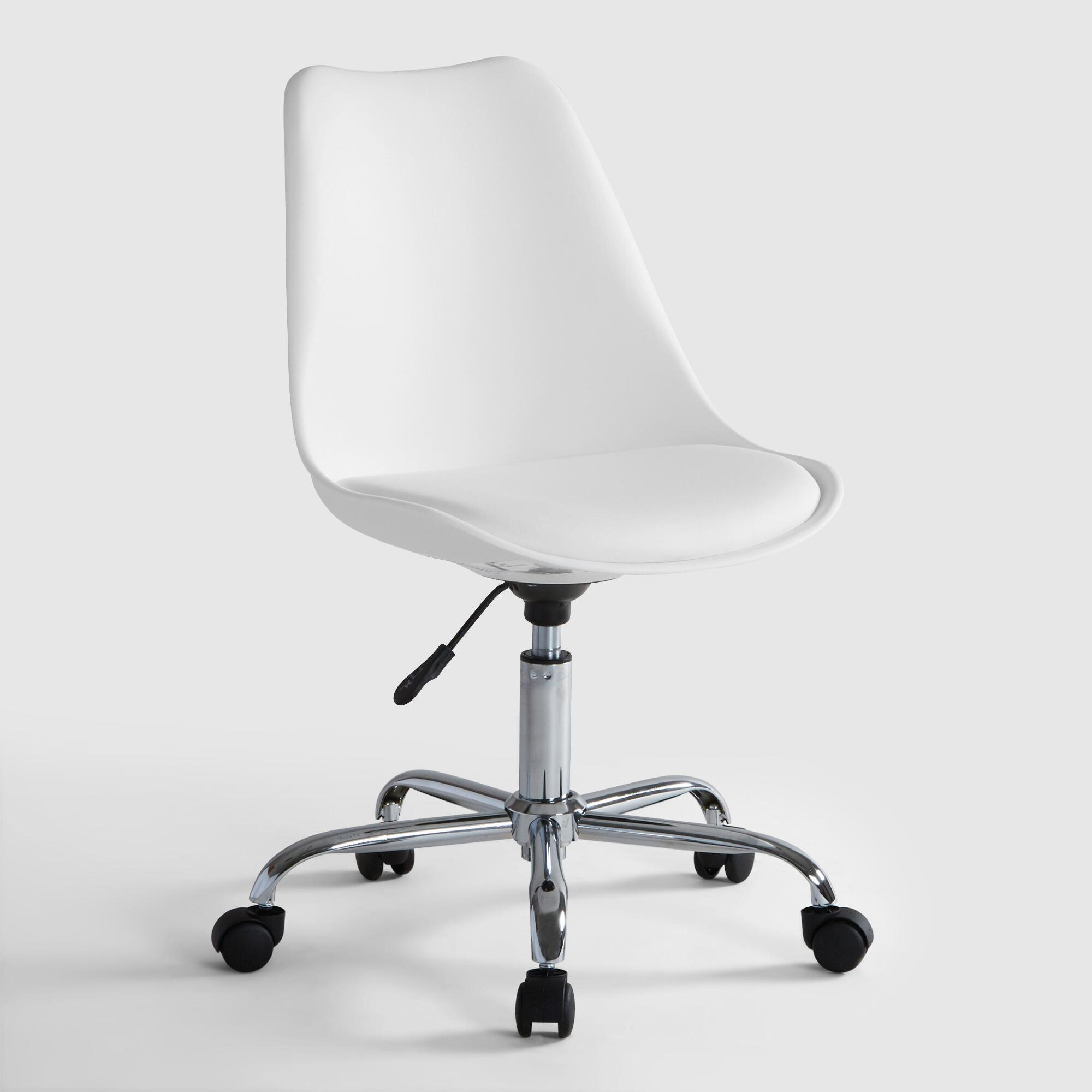 White Emerson Office Chair By World Market
