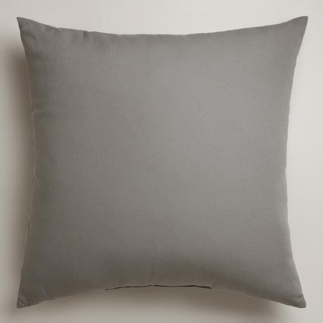 Gry Outdoor Thrw Pillow
