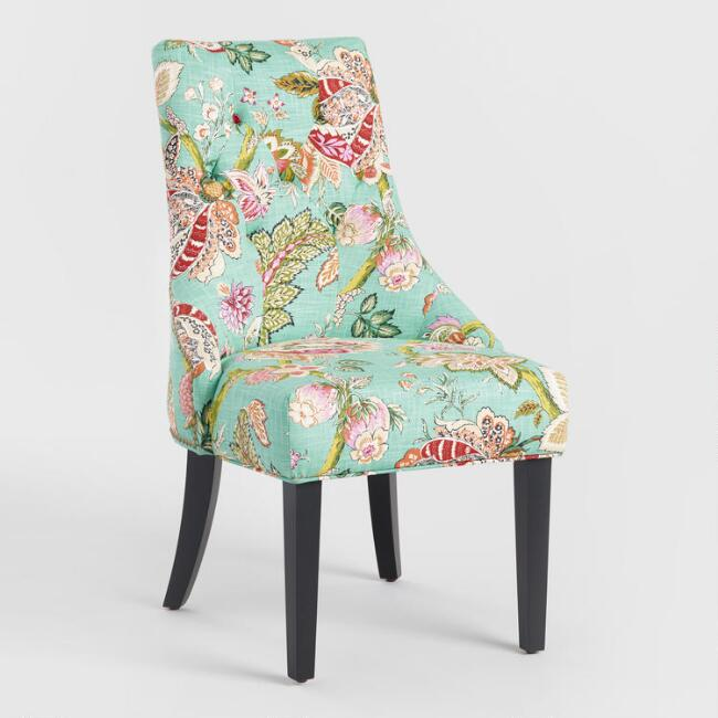 Monrovia Floral Lydia Dining Chairs Set of 2 – Floral Dining Chairs