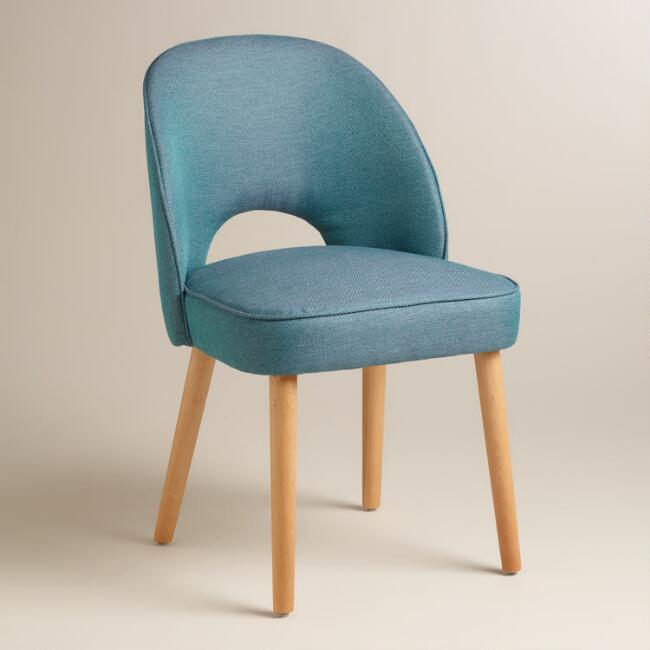 Blue Hazel Split Back Dining Chairs Set of 2