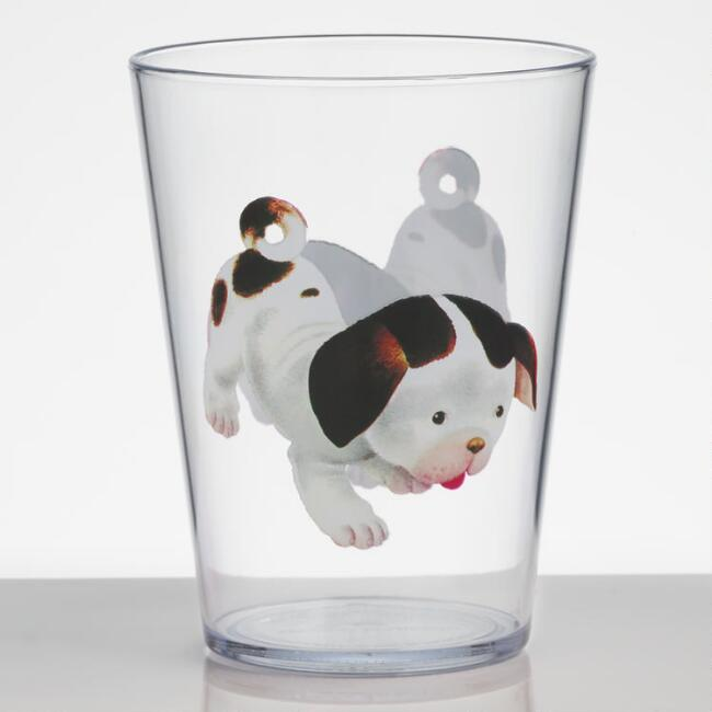 Poky Little Puppy Acrylic Juice Cups Set of 4