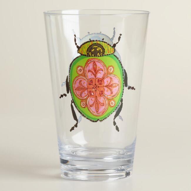 Beetle Acrylic Tumblers Set of 3